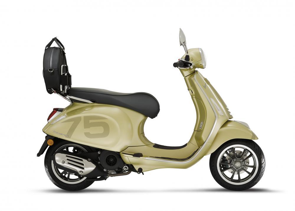 Vespa Primavera 150 75th Anniversary Limited Edition technical specifications